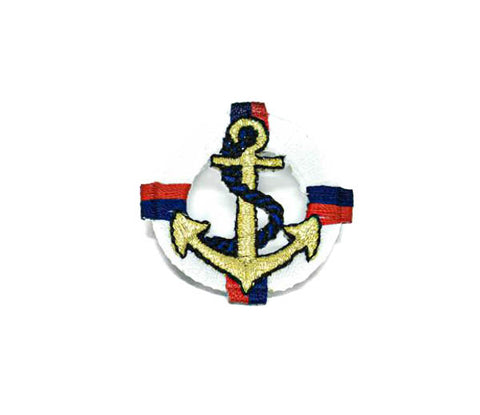 "1 2/3"" x 1 2/3"" Anchor on Life Tube Patch"