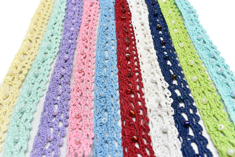 Crochet Beaded Trim