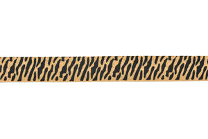 "5/8"" Assorted Tiger Print Elastic"