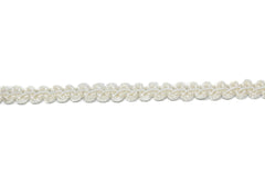 Ivory Braided Gimp Trim 3/8