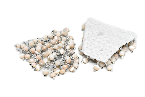 Pearl and Sequins Epaulet (One-Pair)