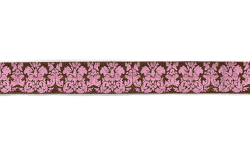 "Damask Print Fold-Over Elastic 5/8"" - 1 Yard"