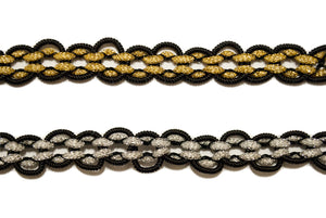 Metallic Braided Gimp- Design 1 - Target Trim