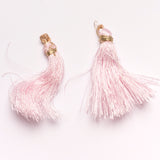 Metallic Light Pink Tiered Tassel Design 4 - Target Trim