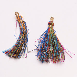 Multi-Color Tiered Tassel Design #6