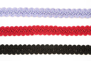 "7/8"" Braided Gimp Trim- Design #1"
