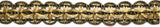 "5/8"" Metallic Braided Gimp- Design 2 - Target Trim"