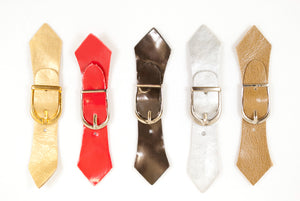 Mini Belt Buckle / Shoe & Belt Accessories / Assorted Colors