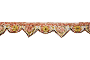 Unique Pattern Handcrafted Indian Trim