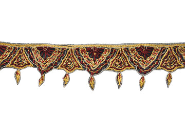 Dangling Hand-Crafted Indian Trim