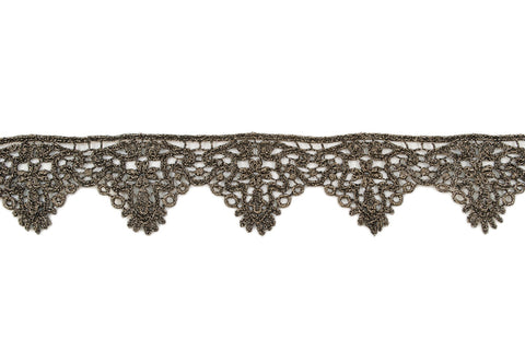 Dark Gold Metallic Scallop Trim - Target Trim
