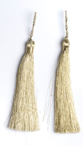 Metallic Light Gold Tiered Tassel Design 2 - Target Trim