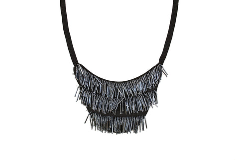 Bib-type Neck Piece (Necklace) - Target Trim
