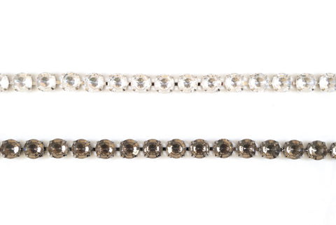 8mm Sparkly  / Shiny Crystal Rhinestone /  Chain Trimming / Crystal Bead Chain - Target Trim