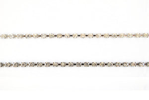6mm Sparkly  / Shiny Crystal Rhinestone /  Chain Trimming / Crystal Bead Chain - Target Trim
