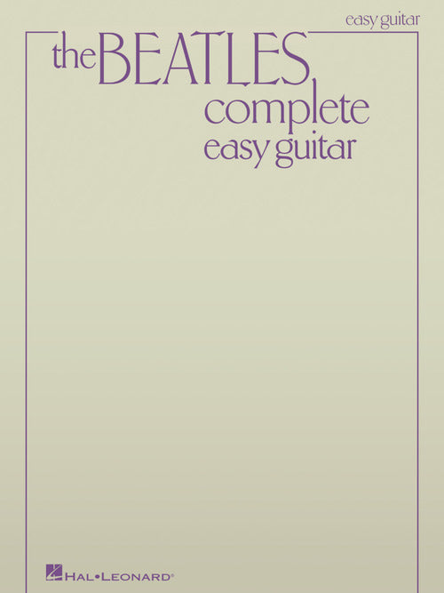The Beatles Complete Easy Guitar