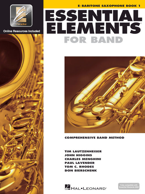 Essential Elements for Band, Book 1 (Baritone Saxophone)