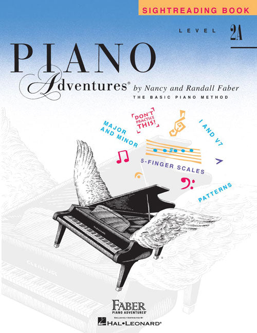 Faber Piano Adventures: Sightreading Book, Level 2A
