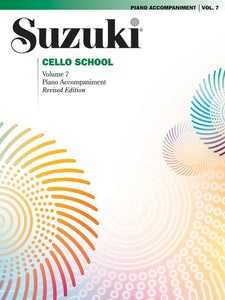 Suzuki Cello School: Piano Accompaniment, Volume 07 (Revised Edition)