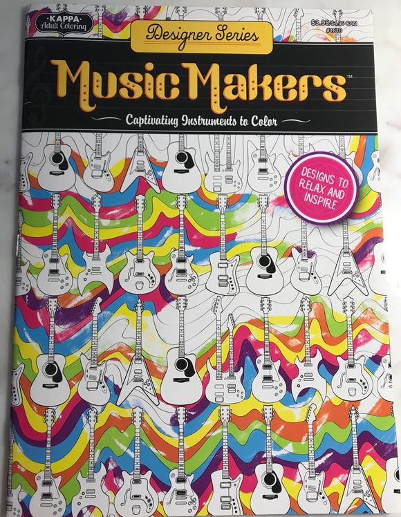 Music Makers Coloring Book