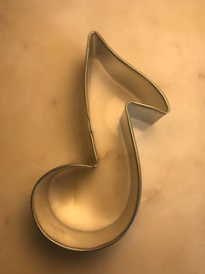 Eighth Note Cookie Cutter