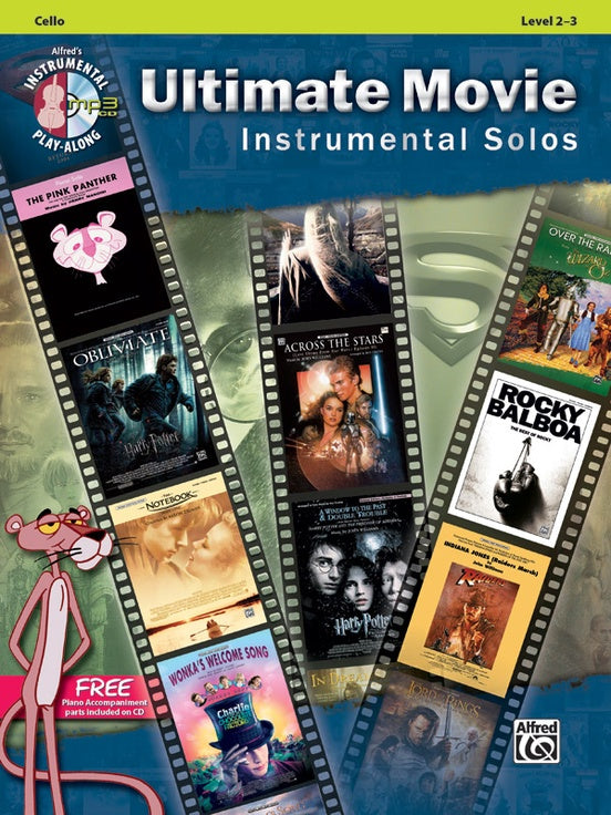 Ultimate Movie Instrumental Solos (Cello)
