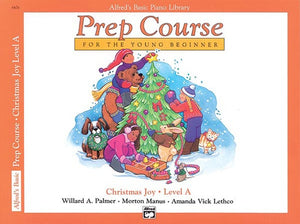 Alfred's Basic Piano Library Prep Course: Christmas Joy, Level A