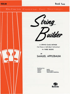 Belwin Course for Strings, String Builder: Violin, Book 2