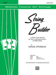 Belwin Course for Strings, String Builder: Violin, Book 1