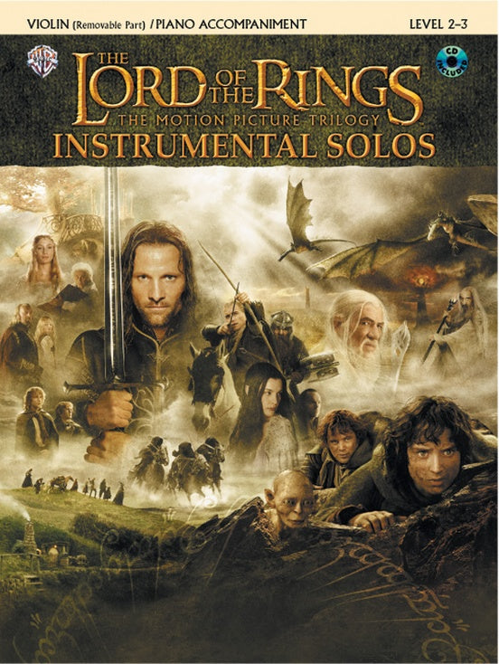 The Lord of the Rings: Selections from the Motion Picture Trilogy (Violin)