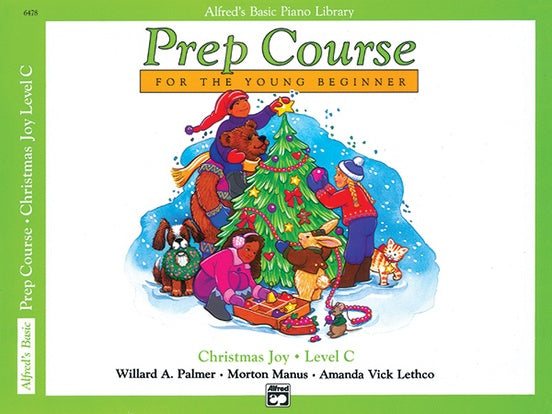 Alfred's Basic Piano Library Prep Course: Christmas Joy, Level C