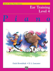 Alfred's Basic Piano Library: Ear Training Book, Level 4
