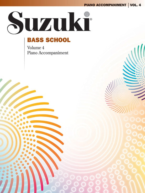 Suzuki Bass School: Piano Accompaniment, Volume 04
