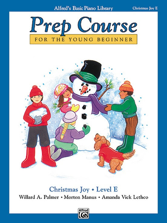 Alfred's Basic Piano Library Prep Course: Christmas Joy, Level E