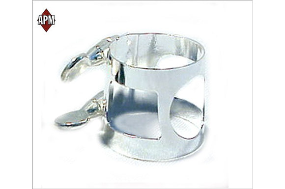 APM Nickel Plated Alto Sax Ligature
