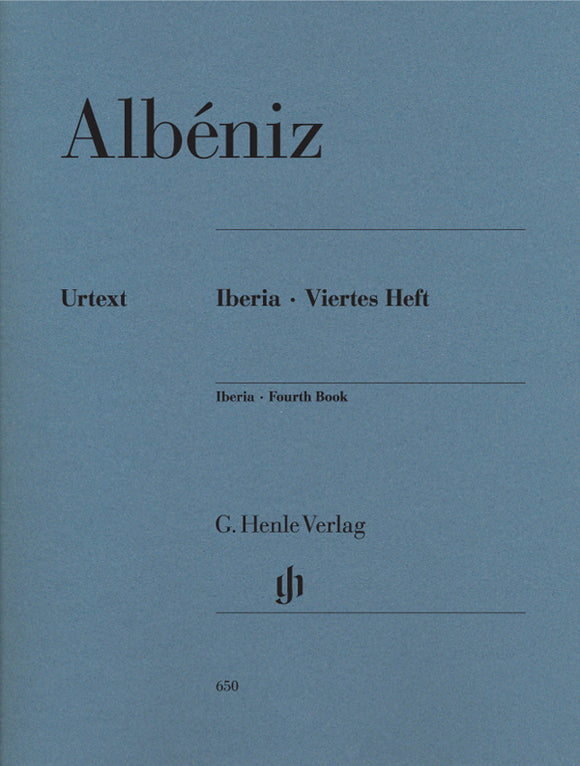 Albéniz Iberia 4th Book