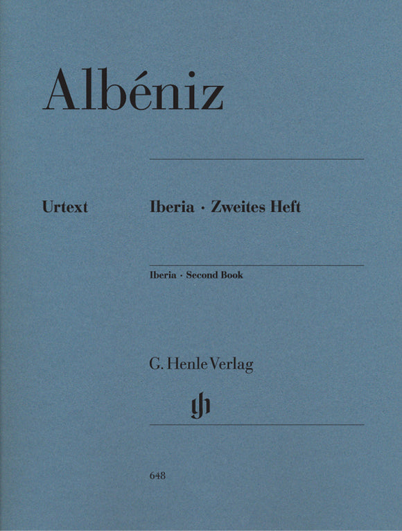 Albéniz Iberia 2nd Book
