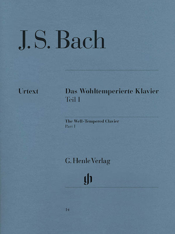 Bach, J.S. The Well-Tempered Clavier, Volume I (BWV 849 - 869)