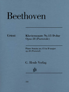 Beethoven Piano Sonata No. 15 in D Major, Op. 28