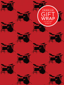 Drumset Wrapping Paper