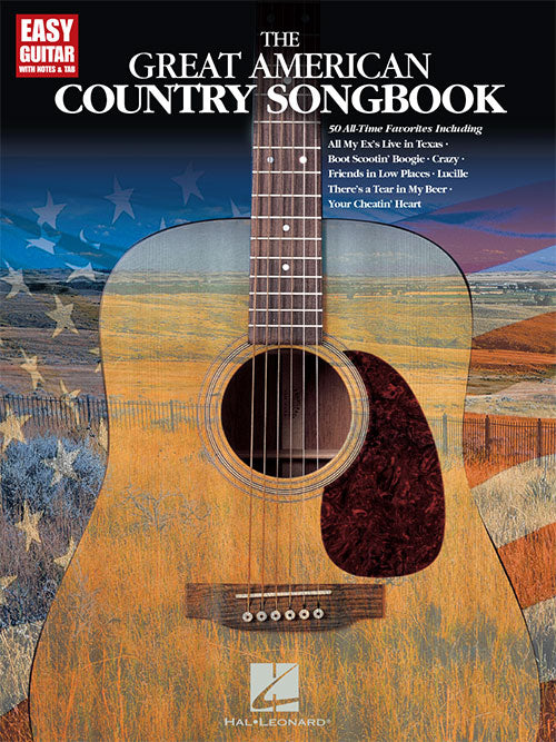 The Great American Country Songbook Easy Guitar