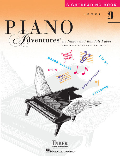 Faber Piano Adventures: Sightreading Book, Level 2B