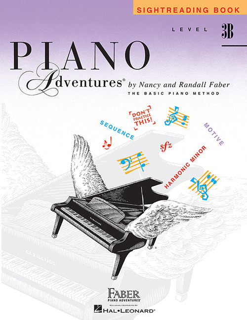 Faber Piano Adventures: Sightreading Book, Level 3B