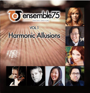 "Ensemble75 ""Volume 1: Harmonic Allusions"" CD"
