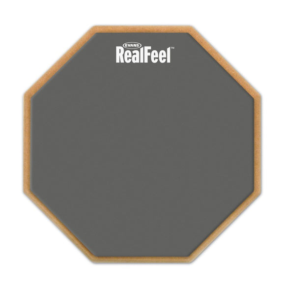 "Evans RealFeel 2-Sided Pad (12"")"