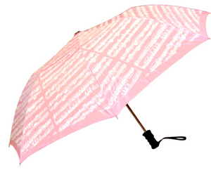 Sheet Music Umbrella (Pink)