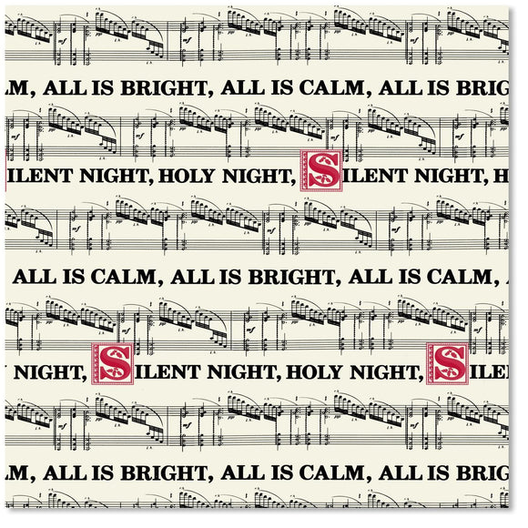 Silent Night Wrapping Paper