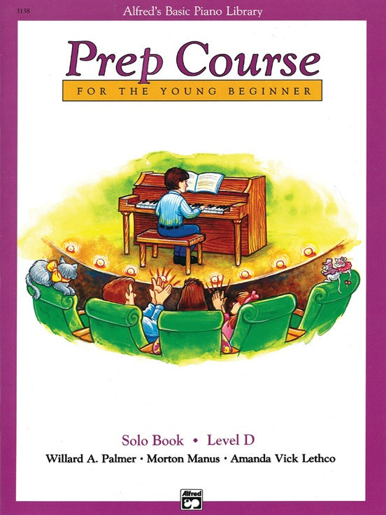 Alfred's Basic Piano Library Prep Course: Solo Book, Level D