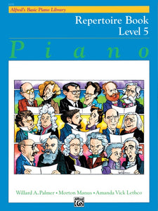 Alfred's Basic Piano Library: Repertoire Book, Level 5