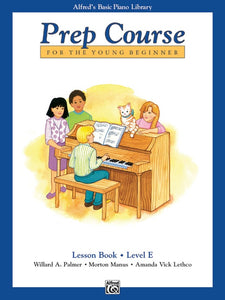 Alfred's Basic Piano Library Prep Course: Lesson Book, Level E